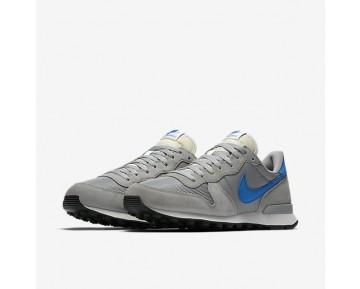 Nike Internationalist Mens Shoes Matte Silver/Sail/Black/Blue Spark Style: 828041-004