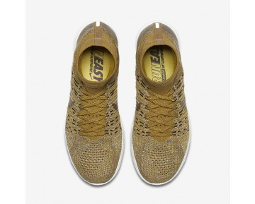 NikeLab LunarEpic Flyknit Mens Shoes Golden Beige/Mineral Gold/Dark Mushroom/Black Style: 831111-200