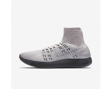NikeLab LunarEpic Flyknit Womens Shoes Pearl Pink/Dark Grey/Sail/Pure Platinum Style: 831112-600