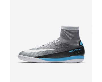 Nike MercurialX Proximo II IC Mens Shoes Wolf Grey/Pure Platinum/Laser Blue/White Style: 831976-010
