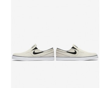 Nike SB Zoom Stefan Janoski Slip-On Mens Shoes Light Bone/White/Black/Black Style: 833564-002