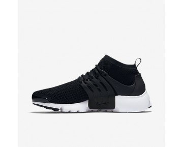 Nike Air Presto Ultra Flyknit Mens Shoes Black/White/Electric Green/Black Style: 835570-001