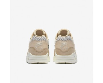 Nike Air Max 1 Pinnacle Womens Shoes Mushroom/Light Bone/Oatmeal/Black Style: 839608-201