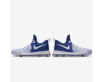 Nike Zoom KD 9 Mens Shoes Game Royal/White Style: 843392-411