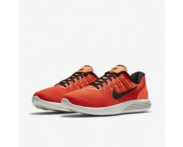 Nike LunarGlide 8 Mens Shoes Max Orange/Hyper Orange/Electrolime/Black Style: 843725-802