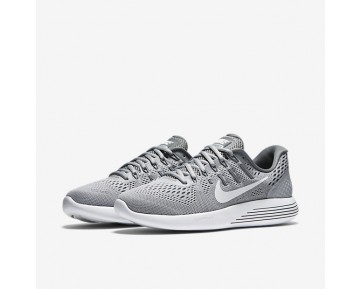 Nike LunarGlide 8 Womens Shoes Wolf Grey/Cool Grey/White Style: 843726-002