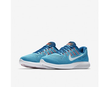 Nike LunarGlide 8 Womens Shoes Chlorine Blue/Industrial Blue/Racer Pink/Glacier Blue Style: 843726-405