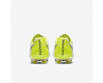 Nike Magista Opus II Mens Shoes White/Volt/Wolf Grey/Black Style: 843813-107