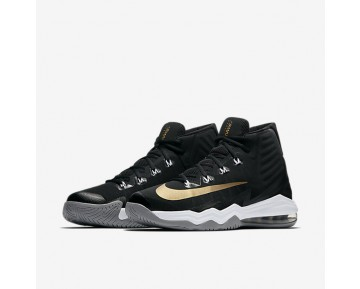 Nike Air Max Audacity 2016 Mens Shoes Black/Dark Grey/Wolf Grey/Metallic Gold Style: 843884-010