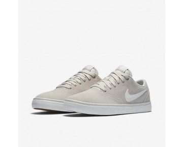 Nike SB Check Solarsoft Mens Shoes Light Bone/Gum Light Brown/White Style: 843895-010