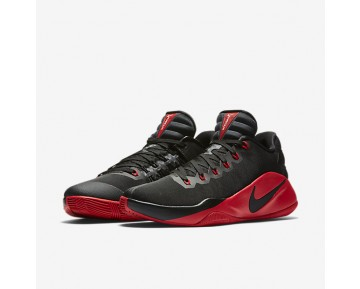 Nike Hyperdunk 2016 Low Mens Shoes Black/Dark Grey/University Red Style: 844363-060