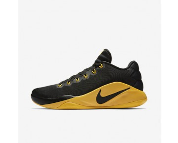 Nike Hyperdunk 2016 Low Mens Shoes Black/Dark Grey/University Gold Style: 844363-070