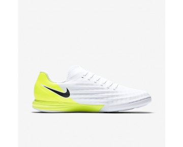 Nike MagistaX Finale II IC Mens Shoes White/Volt/Black Style: 844444-107