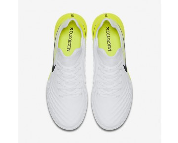 Nike MagistaX Finale II TF Mens Shoes White/Volt/Black Style: 844446-107