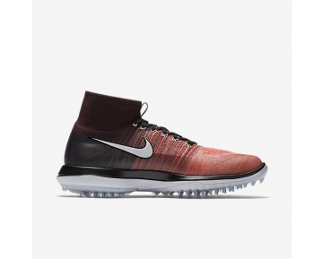 Nike Flyknit Elite Mens Shoes Deep Burgundy/Max Orange/Bright Melon/White Style: 844450-601