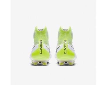 Nike Magista Obra II FG Mens Shoes White/Volt/Pure Platinum/Black Style: 844595-109