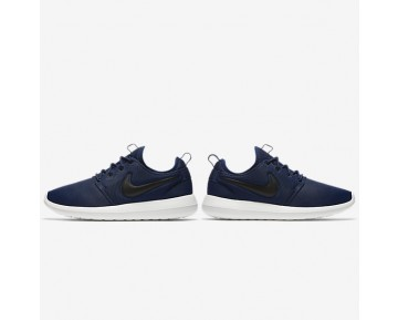 Nike Roshe Two Mens Shoes Midnight Navy/Sail/Volt/Black Style: 844656-400