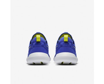 Nike Roshe Two Mens Shoes Paramount Blue/Electrolime/White/Wolf Grey Style: 844656-401