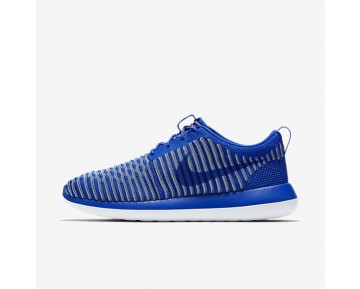Nike Roshe Two Flyknit Mens Shoes Racer Blue/Ocean Fog/Blue Grey/Racer Blue Style: 844833-401