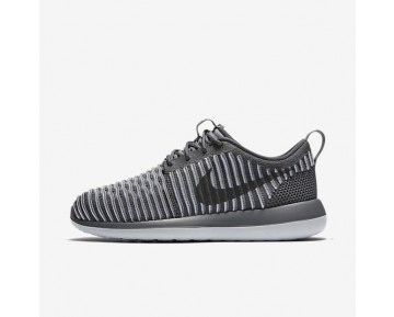 Nike Roshe Two Flyknit Womens Shoes Dark Grey/Pure Platinum/Dark Grey Style: 844929-002