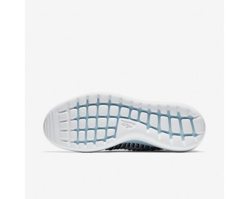 Nike Roshe Two Flyknit Womens Shoes Glacier Blue/Black/White Style: 844929-402