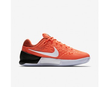NikeCourt Zoom Cage 2 Clay Mens Shoes Tart/Black/White Style: 844961-802