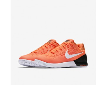 NikeCourt Zoom Cage 2 Clay Womens Shoes Tart/Black/White Style: 844963-800