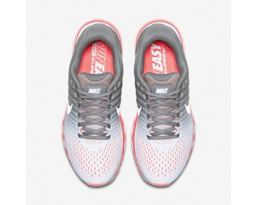 Nike Air Max 2017 Womens Shoes Pure Platinum/Cool Grey/Hot Lava/White Style: 849560-007