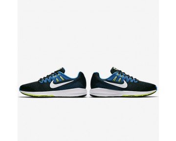 Nike Air Zoom Structure 20 Mens Shoes Black/Photo Blue/Ghost Green/White Style: 849576-004