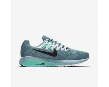 Nike Air Zoom Structure 20 Womens Shoes Smoky Blue/White/Hyper Turquoise/Black Style: 849577-004