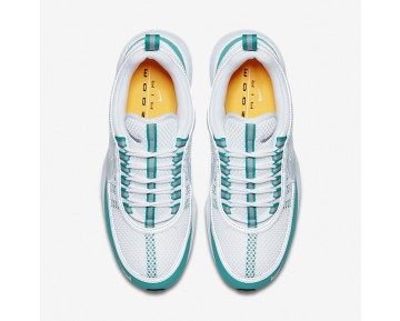 Nike Air Zoom Spiridon Mens Shoes White/Turbo Green/Laser Orange/Silver Style: 849776-102
