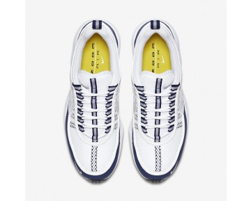 Nike Air Zoom Spiridon Mens Shoes White/Light Midnight/Silver Style: 849776-103