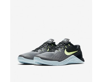 Nike Metcon 3 Womens Shoes Dark Grey/Glacier Blue/Black/Ghost Green Style: 849807-003