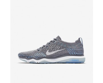 Nike Zoom Fearless Flyknit Womens Shoes Cool Grey/Polarised Blue/White Style: 850426-004