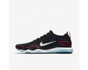 Nike Zoom Fearless Flyknit Womens Shoes Black/Chlorine Blue/Vivid Purple/White Style: 850426-006
