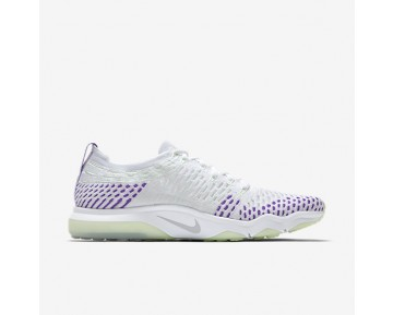 Nike Zoom Fearless Flyknit Womens Shoes White/Hyper Grape/Vapour Green/Wolf Grey Style: 850426-103