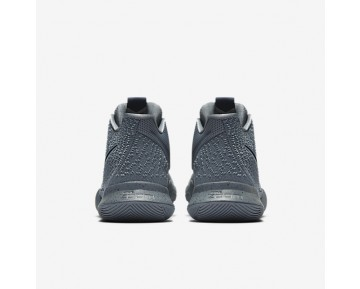 Kyrie 3 Mens Shoes Cool Grey/Pure/Polarised Blue/Midnight Navy Style: 852395-001