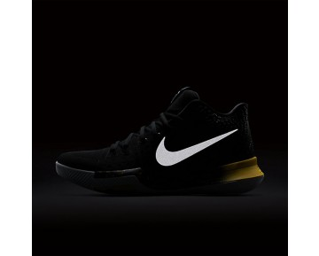 Kyrie 3 Mens Shoes Black/Yellow/Black Style: 852395-901