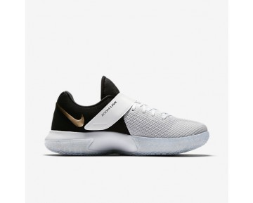 Nike Zoom Live 2017 Mens Shoes White/Metallic Gold/Pure Platinum/Black Style: 852421-107