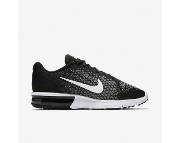 Nike Air Max Sequent 2 Mens Shoes Black/Dark Grey/Wolf Grey/White Style: 852461-005