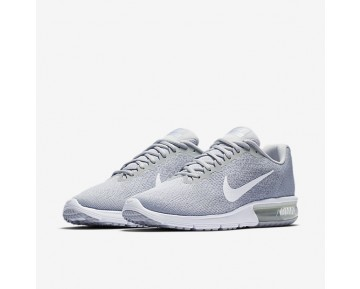 Nike Air Max Sequent 2 Mens Shoes Pure Platinum/Wolf Grey/Metallic Platinum/White Style: 852461-007