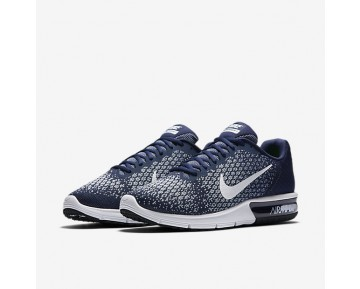 Nike Air Max Sequent 2 Mens Shoes Binary Blue/Blue Moon/Light Armoury Blue/White Style: 852461-400
