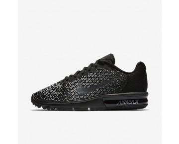 Nike Air Max Sequent 2 Womens Shoes Black/Dark Grey/Wolf Grey/Metallic Hematite Style: 852465-010