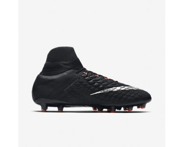Nike Hypervenom Phantom 3 DF AG-PRO Mens Shoes Black/Black/Anthracite/Metallic Silver Style: 852550-001