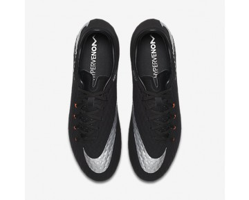 Nike Hypervenom Phelon 3 FG Mens Shoes Black/Black/Anthracite/Metallic Silver Style: 852556-001
