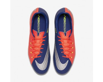 Nike Hypervenom Phelon 3 FG Mens Shoes Deep Royal Blue/Total Crimson/Bright Citrus/Chrome Style: 852556-409