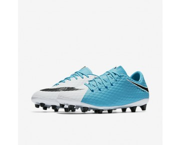 Nike Hypervenom Phelon 3 AG-PRO Mens Shoes Photo Blue/White/Chlorine Blue/Black Style: 852559-104