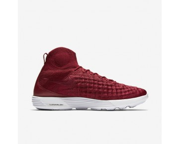 Nike Lunar Magista II Flyknit Mens Shoes Team Red/Team Red/White/Team Red Style: 852614-600