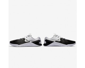 Nike Metcon 3 Mens Shoes Black/Metallic Silver/White Style: 852928-005