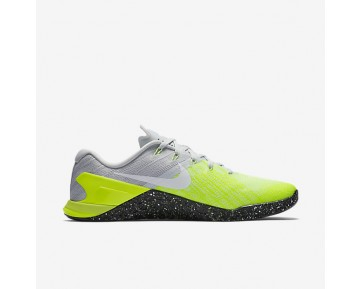 8685a180fdfa3 Nike Metcon 3 Mens Shoes Pure Platinum/Volt/Ghost Green/Black Style: